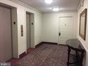 The unit from the elevator - 8340 GREENSBORO DR #814, MCLEAN