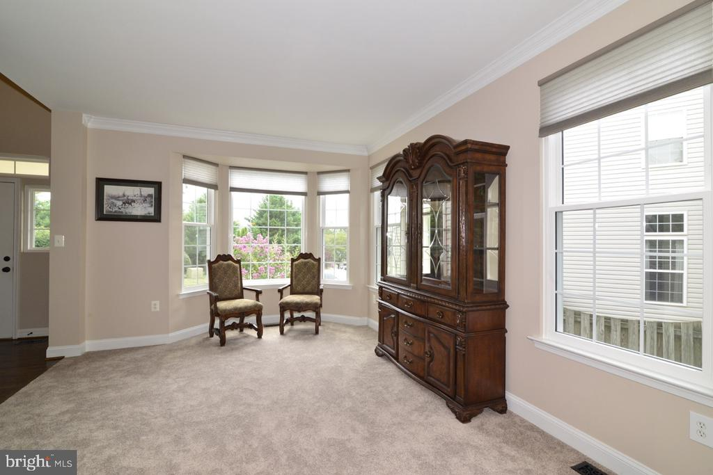 Light and bright living room! - 1308 FEATHERSTONE LN NE, LEESBURG
