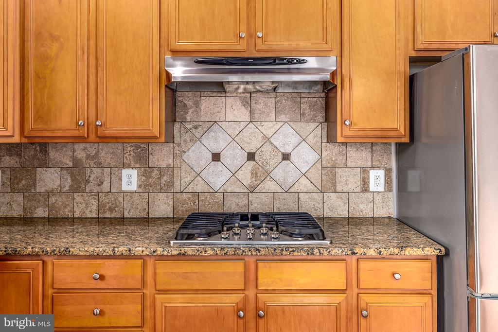 Cooktop with Range Hood - 42476 MANDOLIN ST, CHANTILLY