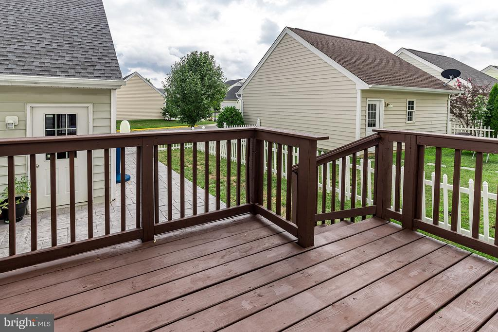 Deck - 42476 MANDOLIN ST, CHANTILLY