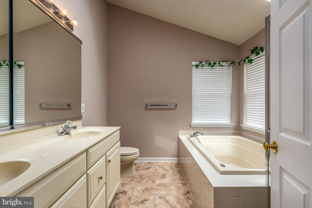 Master bath - 42476 MANDOLIN ST, CHANTILLY