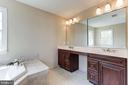 Master Bath with Double Sinks - 20141 BLACKWOLF RUN PL, ASHBURN