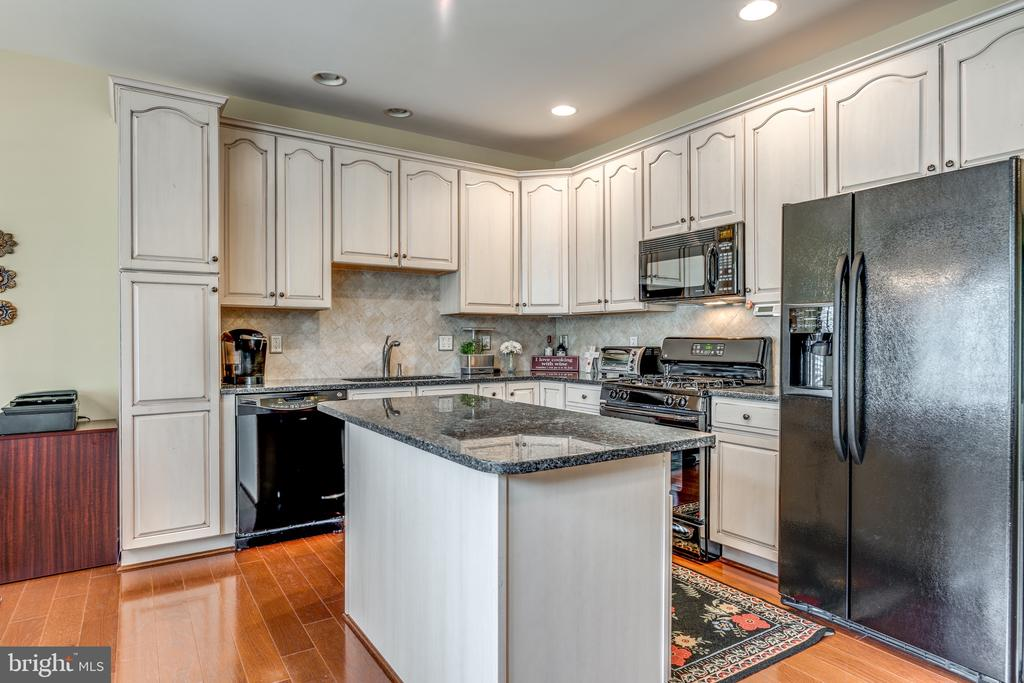 Upgraded Kitchen with granite counters - 20062 NORTHVILLE HILLS TER, ASHBURN