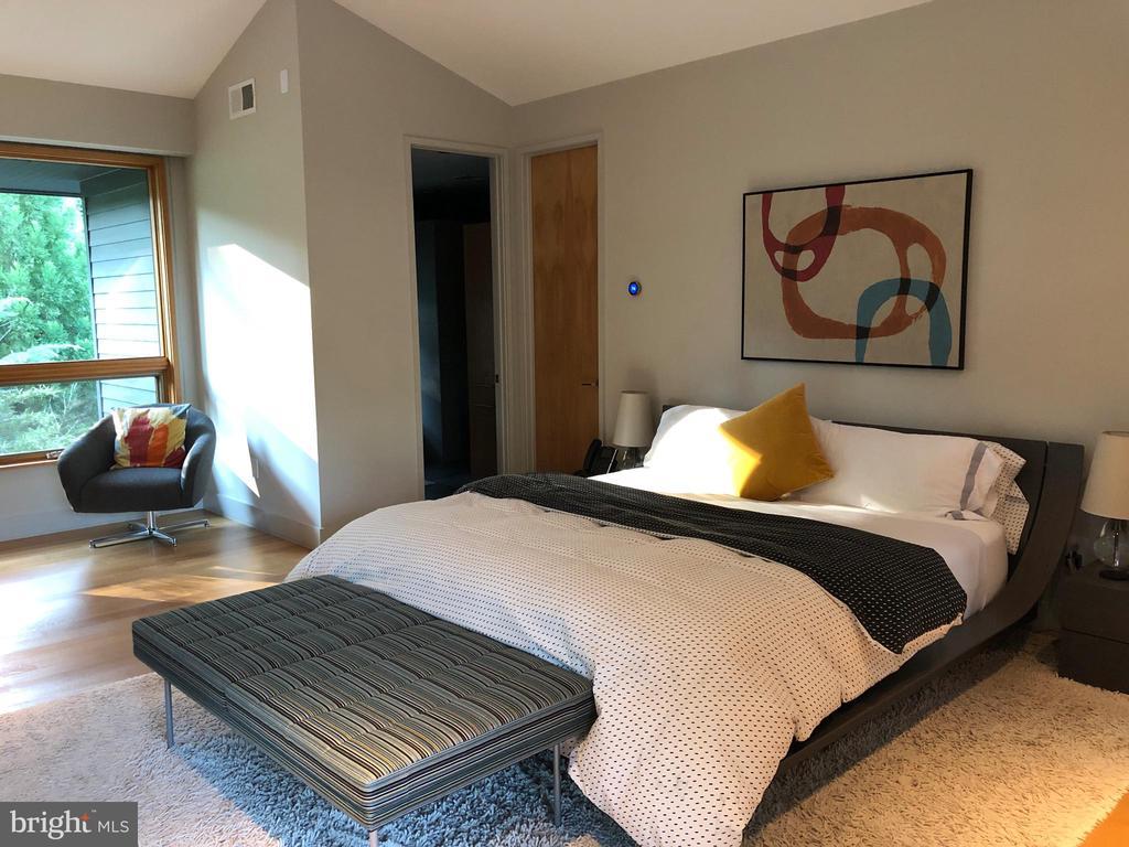 Main level master bedroom has lots of light - 4611 36TH ST N, ARLINGTON
