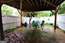 Rear Exterior Fenced Backyard - 12023 EDGEMERE CIR, RESTON
