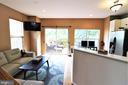 Family Room/Kitchen - 12023 EDGEMERE CIR, RESTON