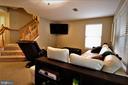 Lower Level Rec Room - 12023 EDGEMERE CIR, RESTON