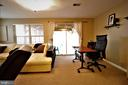 Lower Level Rec Room With Walkout - 12023 EDGEMERE CIR, RESTON
