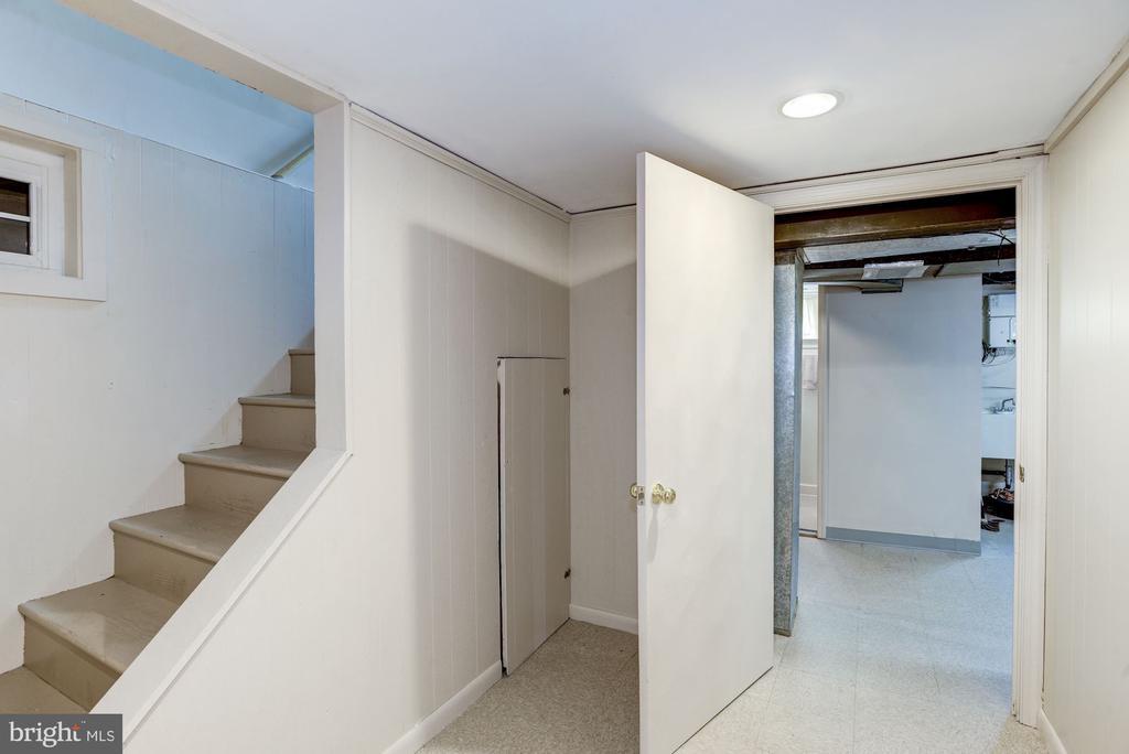 LL under stairway storage area - 4838 1ST ST S, ARLINGTON
