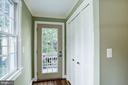 Back door, stairs to driveway, closet - 4838 1ST ST S, ARLINGTON