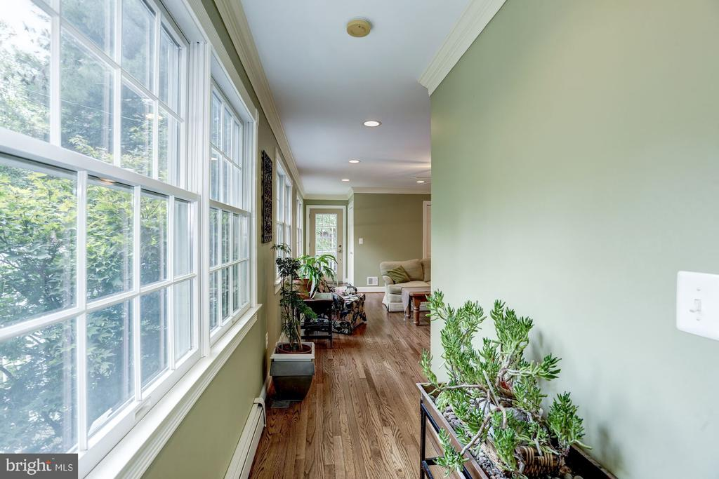 Hallway from main level bathroom to famiily room - 4838 1ST ST S, ARLINGTON