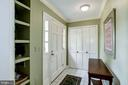 Foyer with mail delivered through slot into home - 4838 1ST ST S, ARLINGTON