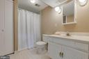 Lower level full bathroom - 10506 NORMAN AVE, FAIRFAX
