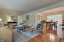 Huge family room addition opens the floor plan - 10506 NORMAN AVE, FAIRFAX