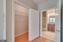 2nd Master bedroom Large Walk in Closet - 12000 MARKET ST #254, RESTON
