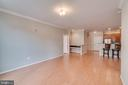 Family Room open to kitchen and office space - 12000 MARKET ST #254, RESTON