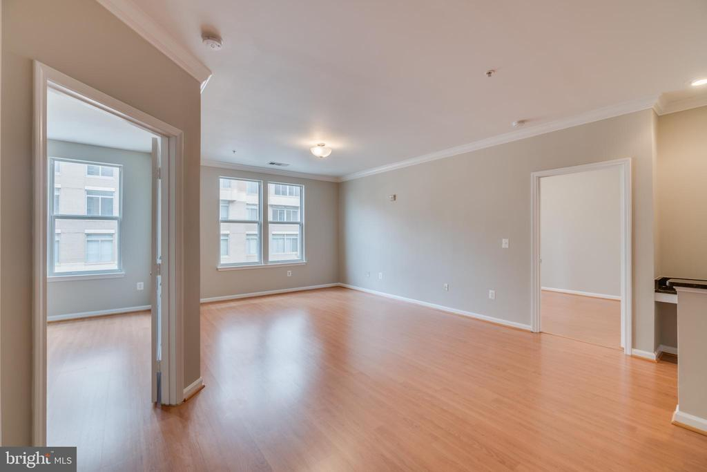 Family Room Freshly Painted - 12000 MARKET ST #254, RESTON