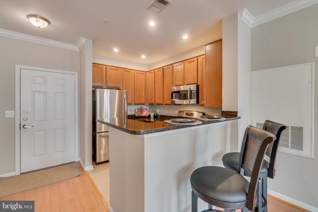 Entrance & Kitchen - 12000 MARKET ST #254, RESTON