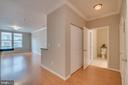 Foyer/Laudry Area and Full Bath - 12000 MARKET ST #254, RESTON