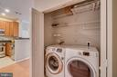 Laundry Closet - 12000 MARKET ST #254, RESTON