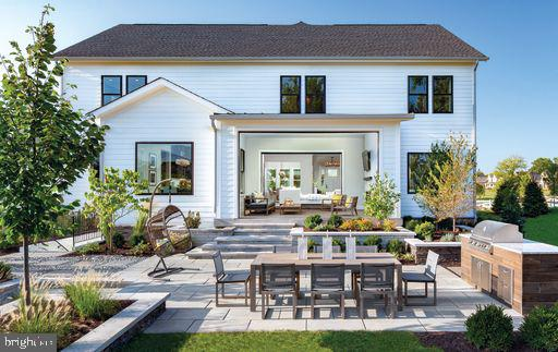 Rosslyn Shown with Optional Lux Outdoor Space - 1641 GRAND MEADOW DR, GAMBRILLS