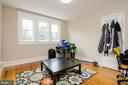 Bedroom on 2nd Floor - 1307 LONGFELLOW ST NW, WASHINGTON
