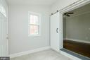 Enclosed porch or more living space - 1307 LONGFELLOW ST NW, WASHINGTON