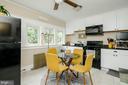 Eat-In Kitchen on 2nd Floor - 1307 LONGFELLOW ST NW, WASHINGTON
