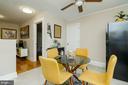 Eat-In Ktchen on 2nd Floor - 1307 LONGFELLOW ST NW, WASHINGTON