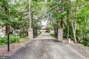 Gated drive - 98 POINT SOMERSET LN, SEVERNA PARK