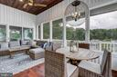 Screened Porch with hardwood floors - 98 POINT SOMERSET LN, SEVERNA PARK
