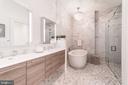 Master bathroom - 609 MARYLAND AVE NE #6, WASHINGTON