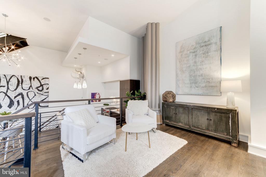 Elevated living room - 609 MARYLAND AVE NE #6, WASHINGTON