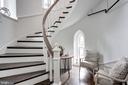Restored Church Staircase - 609 MARYLAND AVE NE #6, WASHINGTON