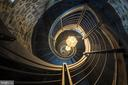 Staircase to tower. - 609 MARYLAND AVE NE #6, WASHINGTON