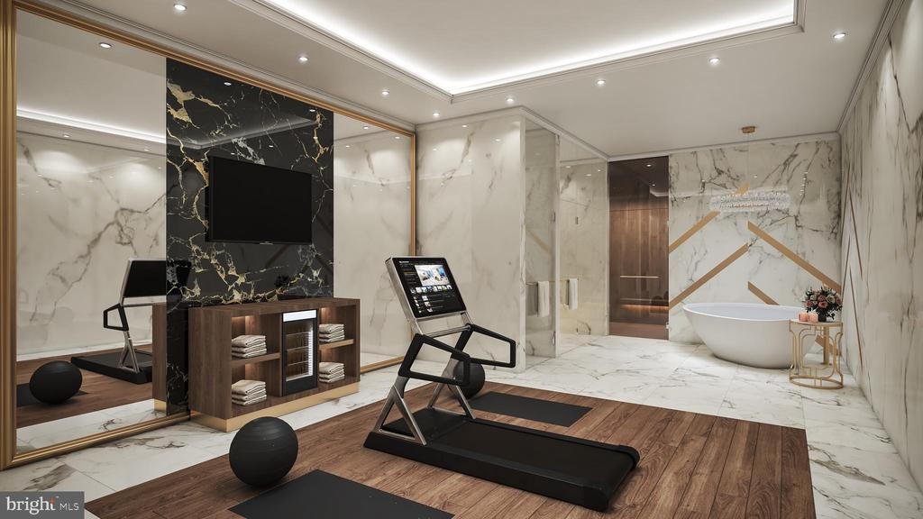 Fitness Room - 1048 RECTOR LN, MCLEAN
