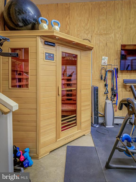 Sauna-Exercise Room-Main Level - 38978 GOOSE CREEK LN, LEESBURG