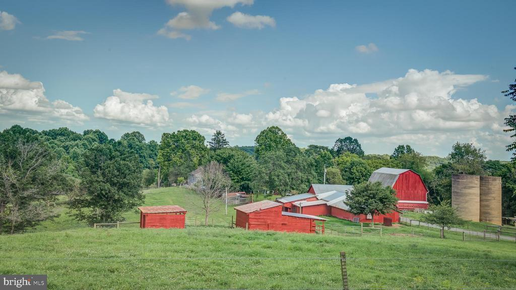 Acreage View of Farm and Buildings - 38978 GOOSE CREEK LN, LEESBURG