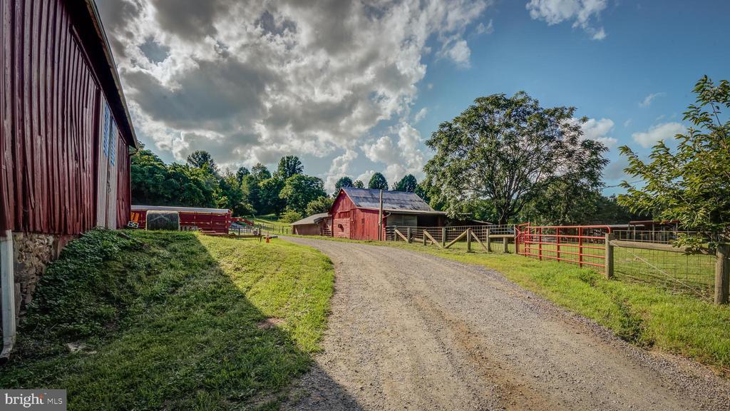 Exterior Farm View - 38978 GOOSE CREEK LN, LEESBURG