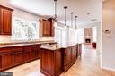 Kitchen - Open to Family Room - 8333 ARGENT CIR, FAIRFAX STATION