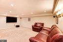 Media Room - 8333 ARGENT CIR, FAIRFAX STATION