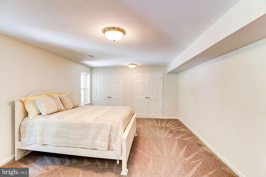 Bedroom #6 (Lower Level) - 8333 ARGENT CIR, FAIRFAX STATION