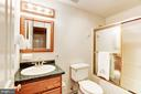 Full Bath (Lower Level) - 8333 ARGENT CIR, FAIRFAX STATION