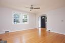 Foyer off Living Room. - 129 N OAKLAND ST, ARLINGTON