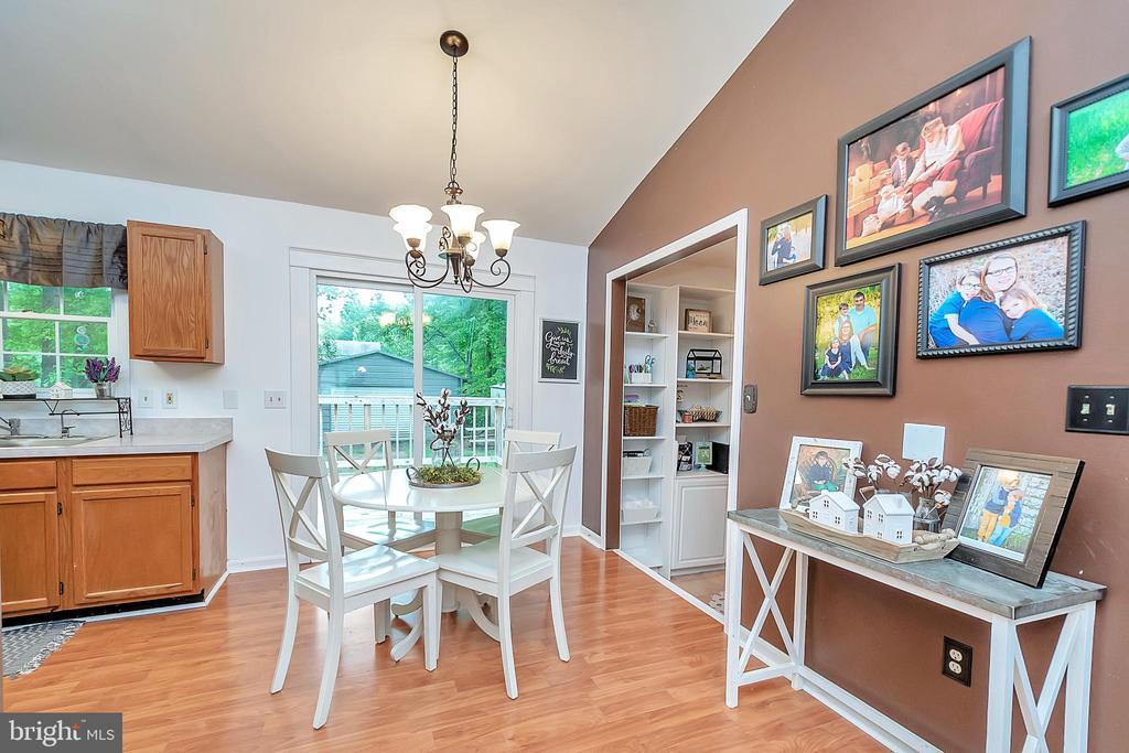 Dining Area off Kitchen - 11800 ASHWOOD CT, LOCUST GROVE