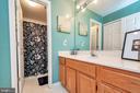 Hallway Full Bath w/ Laundry Area - 11800 ASHWOOD CT, LOCUST GROVE