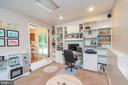 Family Room w/ Built In Shelving - 11800 ASHWOOD CT, LOCUST GROVE