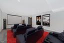 Media Room Ready for Your Enjoyment - 5944 DUVEL ST, IJAMSVILLE