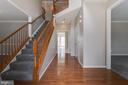 2-Story Foyer has Hardwood Flooring - 2702 MYRTLEWOOD DR, DUMFRIES