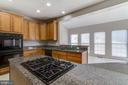 Huge Gourmet Kitchen - 2702 MYRTLEWOOD DR, DUMFRIES